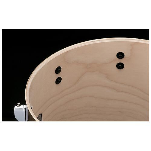 "Image 2 - Tama S.L.P. 14""x 10"" Duo Snare drum - Transparent Mocha (LBH1410L-TPM)"