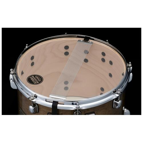 "Image 3 - Tama S.L.P. 14""x 10"" Duo Snare drum - Transparent Mocha (LBH1410L-TPM)"