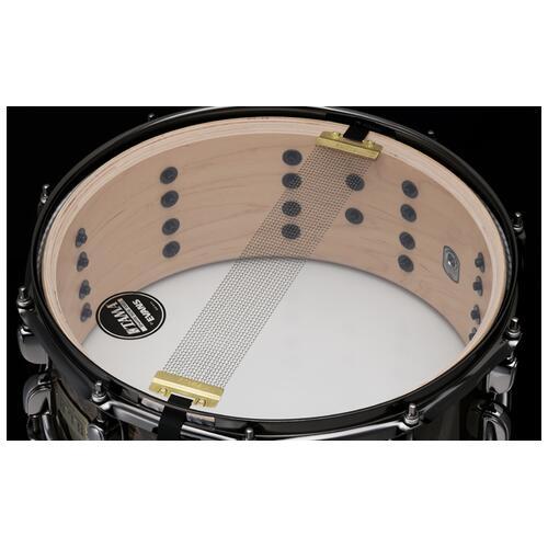 """Image 3 - Tama S.L.P. G-Maple 14""""x6"""" Snare Drum in Kona Mapa Burl (LGM146-KMB)"""