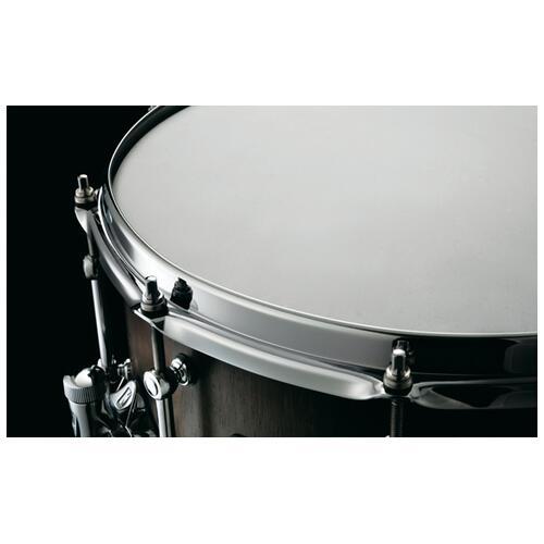 """Image 5 - Tama S.L.P. 14""""x 6.5"""" Walnut Snare Drum Matte Black(LGW1465-MBW)"""