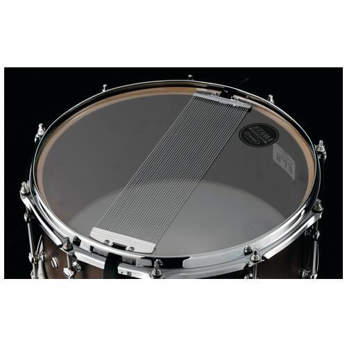 """Image 3 - Tama S.L.P. 14""""x 6.5"""" Walnut Snare Drum Matte Black(LGW1465-MBW)"""