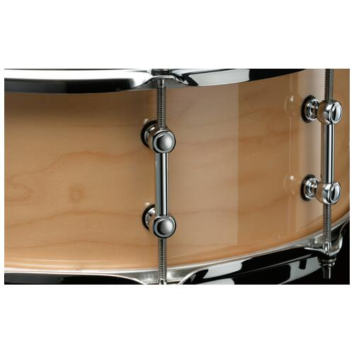 """Image 4 - Tama S.L.P. 14"""" x 5.5"""" Classic Maple Snare Drum (LMP1455-SMP)"""