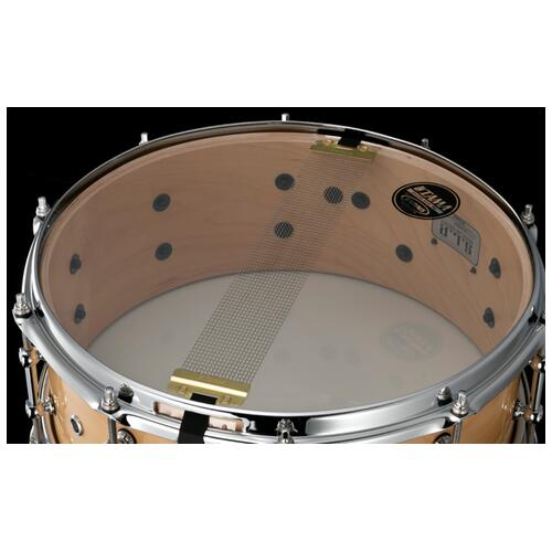 """Image 5 - Tama S.L.P. 14"""" x 5.5"""" Classic Maple Snare Drum (LMP1455-SMP)"""