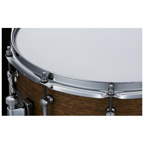 """Image 3 - Tama S.L.P. Bold Spotted Gum 14""""x 6.5"""" Snare Drum (LSG1465-SNG)"""