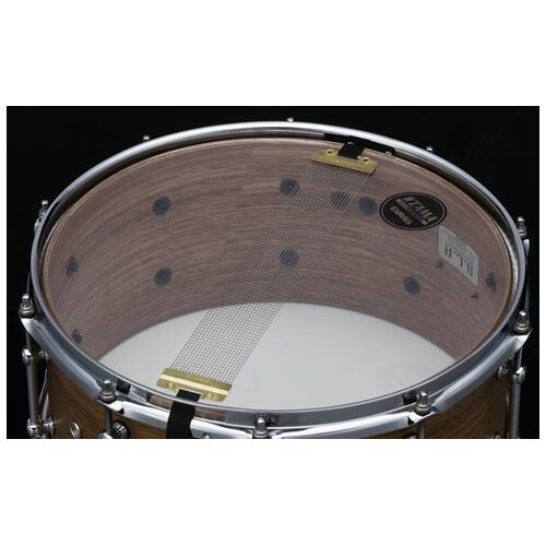 """Image 4 - Tama S.L.P. Bold Spotted Gum 14""""x 6.5"""" Snare Drum (LSG1465-SNG)"""