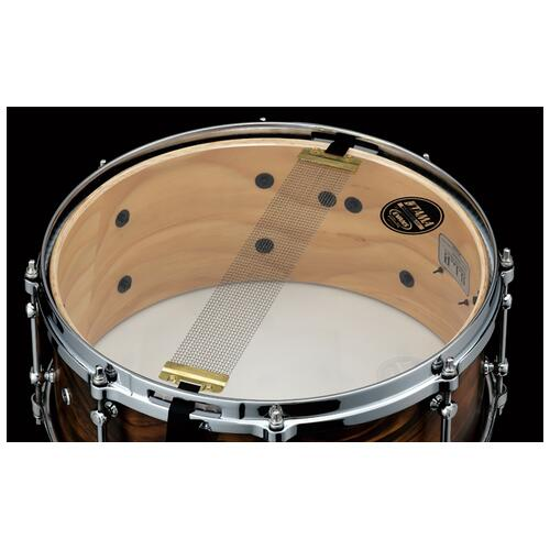 """Image 3 - Tama S.L.P. 14""""x6"""" Fat Spruce Snare Drum(LSP146-WSS)"""