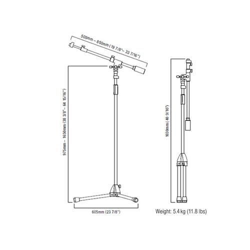 Image 14 - Tama Iron Work Studio Series Microphone stands