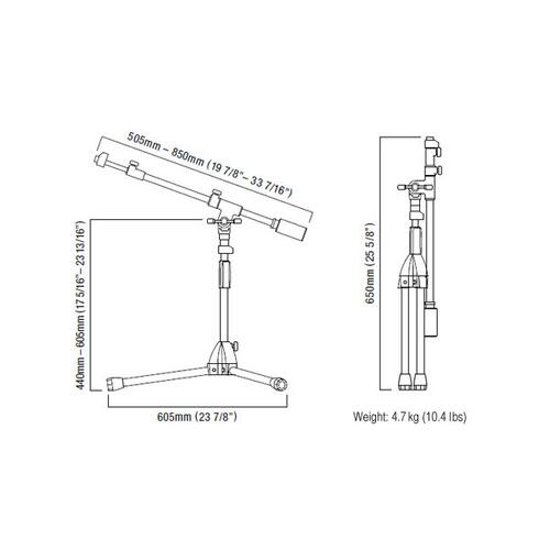 Image 16 - Tama Iron Work Studio Series Microphone stands