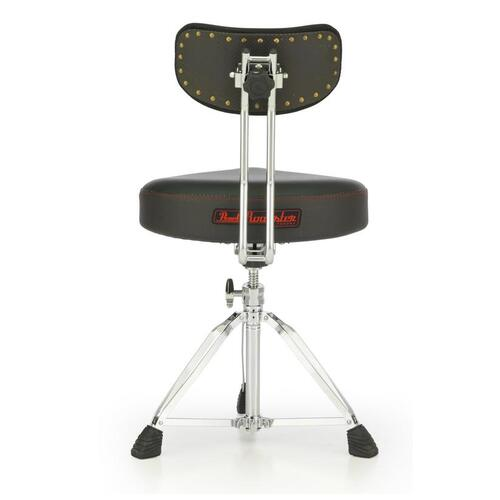 Image 2 - Pearl D3500BR Roadster Multi-Core Saddle Drum Throne w/Back Rest
