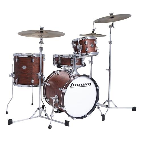 Ludwig Questlove Breakbeats Shell Pack - Mohave Swirl. 10 13 16 Bassdrum 14 Snare