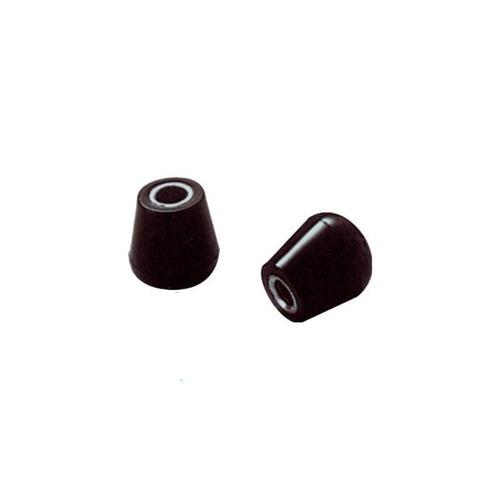 Pearl RHS-1R/2 Rubber Bass Drum Spur Tips (Pack of 2)