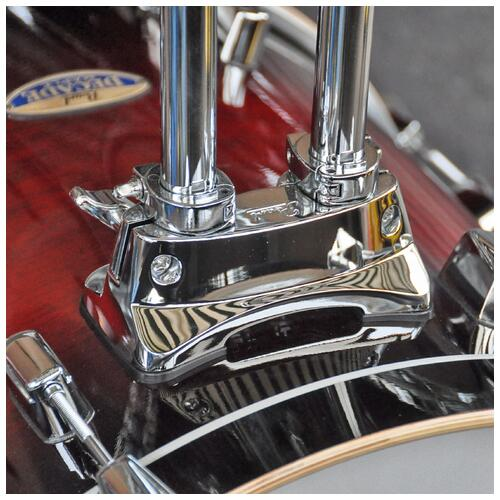 Image 10 - Pearl Decade Maple Fusion 6 piece Shellpack , Gloss Deep Red Burst 8, 10, 12, 14, 20bd 14 snare