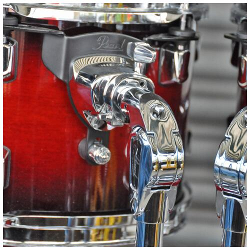 Image 9 - Pearl Decade Maple Fusion 6 piece Shellpack , Gloss Deep Red Burst 8, 10, 12, 14, 20bd 14 snare