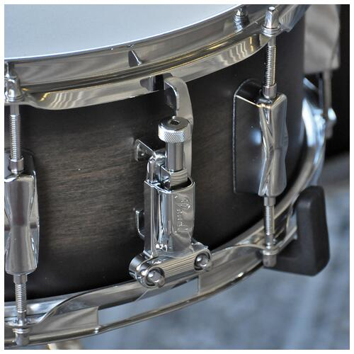 """Image 6 - Pearl 8"""", 10"""", 12"""", 14"""", 20"""" Decade Shell Pack with Snare in Satin Black Burst"""