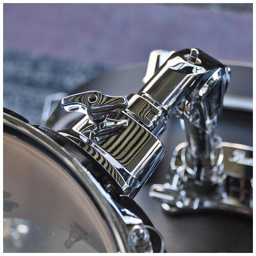 """Image 9 - Pearl 8"""", 10"""", 12"""", 14"""", 20"""" Decade Shell Pack with Snare in Satin Black Burst"""