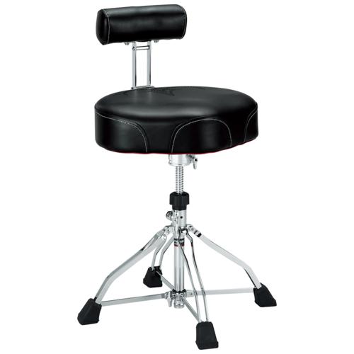 Image 1 - Tama 1st Chair Ergo-Rider Quartet with Backrest (HT741B)