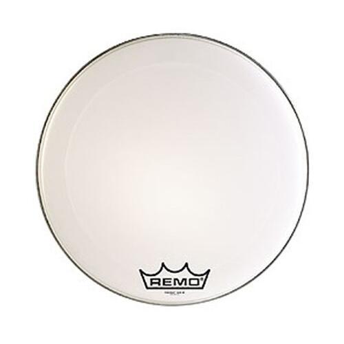 Remo PowerMax Crimplock Ultra White Bass Drum Heads