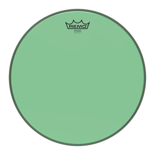 Image 1 - Remo Emperor Colortone Green Drum Heads