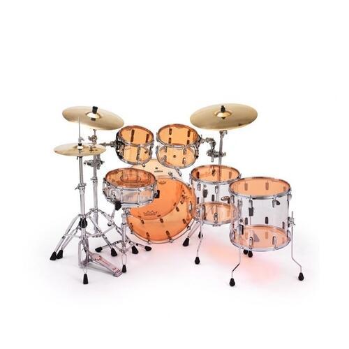 Image 3 - Remo Emperor Colortone Orange Drum Heads