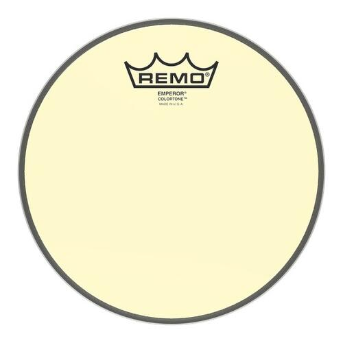 Remo Emperor Colortone Yellow Drum Heads