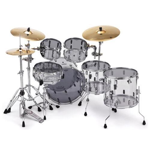 Image 3 - Remo Powerstroke 3 Colortone Smoke Bass Drum Heads