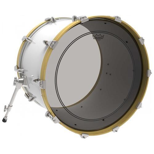 Image 2 - Remo Powerstroke 3 Colortone Smoke Bass Drum Heads