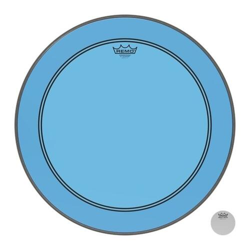 Remo Powerstroke 3 Colortone Blue Bass Drum Heads