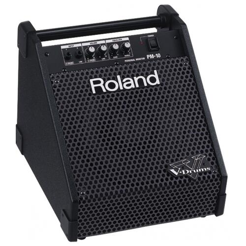 "Roland PM10 30W Amp with 10"" 2-Way Coaxial Speaker"