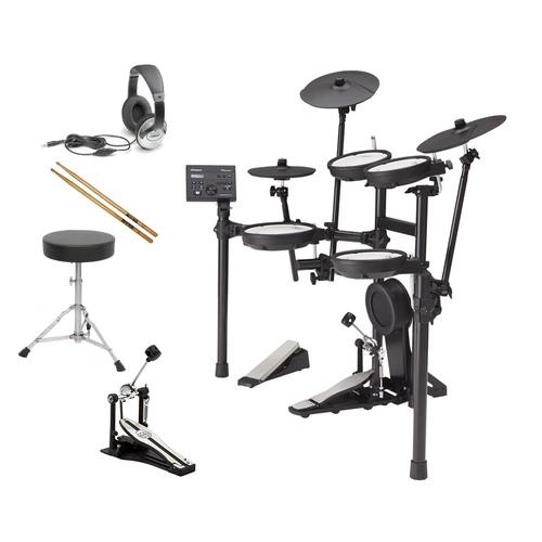 Roland TD-07KV V-Drum Electronic Drum Kit BUNDLE