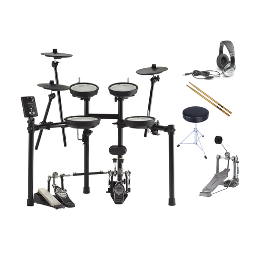 Roland TD-1DMK Electronic Drum Kit Bundle