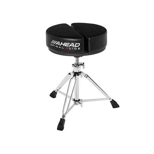Image 2 - Ahead Spinal Glide Drum Throne - Round Top w/ 3 legs base