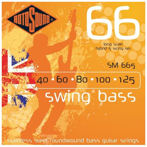 Rotosound SM665 Swing Bass Guitar Strings