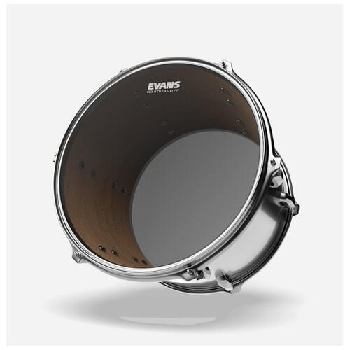Image 1 - Evans SoundOff Mesh Drum Heads - For Toms and Snares