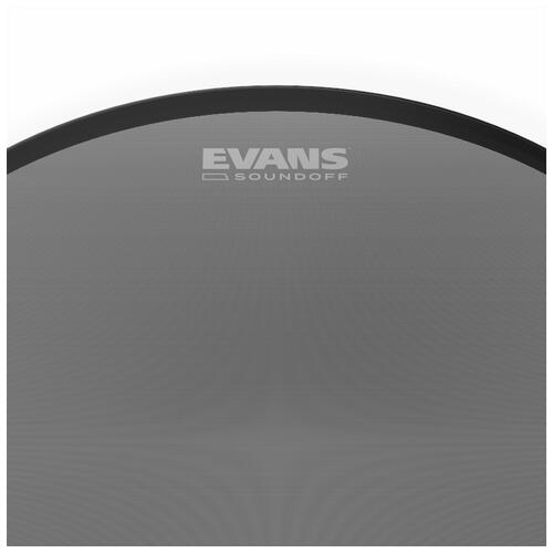 Image 3 - Evans SoundOff Mesh Drum Heads - For Toms and Snares