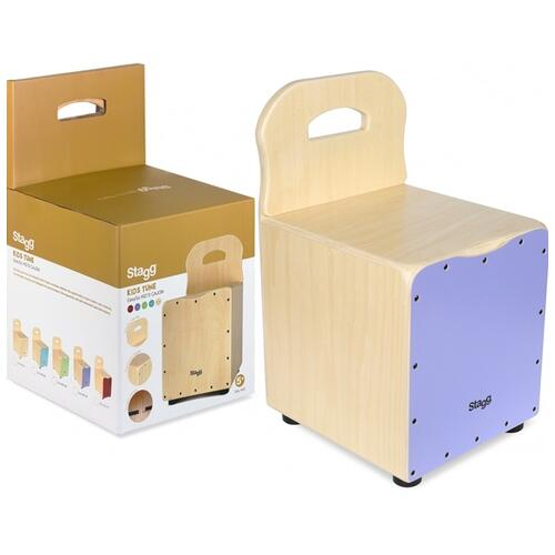 Image 10 - Stagg Kids Cajon with backrest