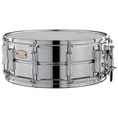 "Yamaha SSS1455 Stage Custom Steel Snare 14""x5.5"", 10 Lug Snare Drum"