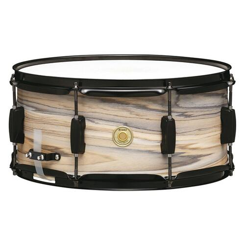 Tama Woodworks Natural Zebrawood Wrap Snare Drums