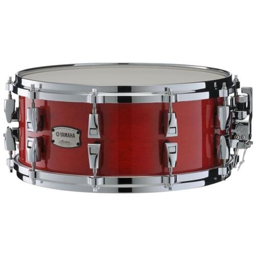 Image 1 - Yamaha Absolute Hybrid Maple Snare Drum, 14x6in, Red Autumn
