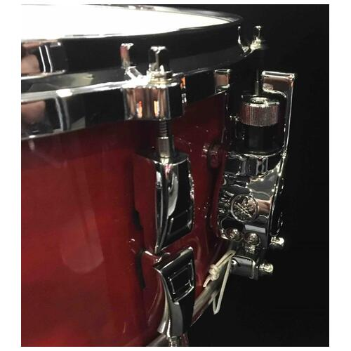 Image 3 - Yamaha Absolute Hybrid Maple Snare Drum, 14x6in, Red Autumn