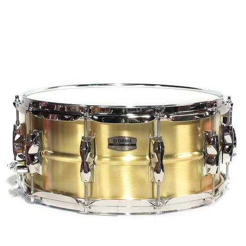 Yamaha Recording Custom Snare (14x5.5in, Brass) - RRS1455