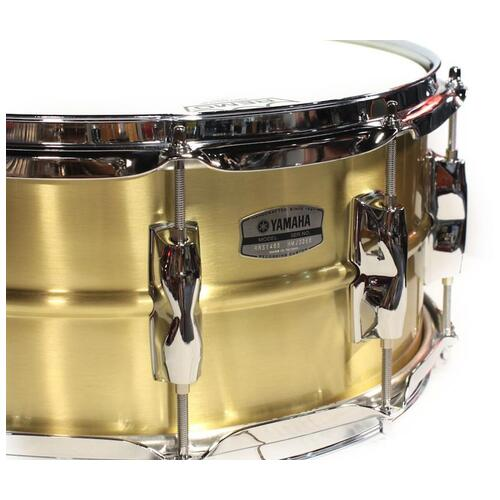 Image 2 - Yamaha Recording Custom Snare (14x5.5in, Brass) - RRS1455