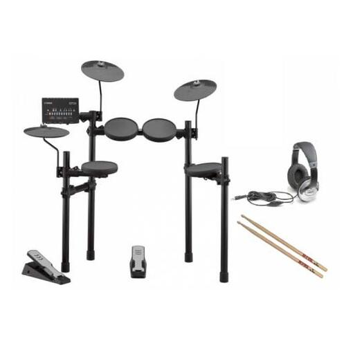 Yamaha DTX402 Electronic Drum Kit Bundle