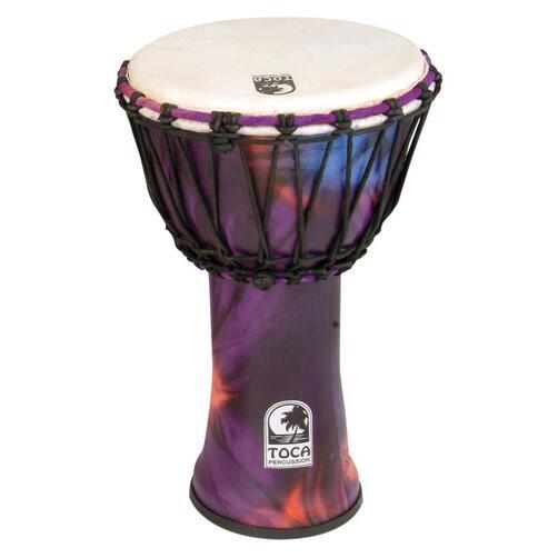 Toca Synergy Freestyle Djembe in Woodstock Purple