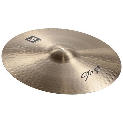 Stagg Dual Hammered DH Ride Cymbals