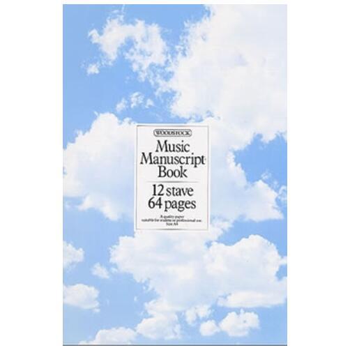 Woodstock Manuscript Book - 64 Page