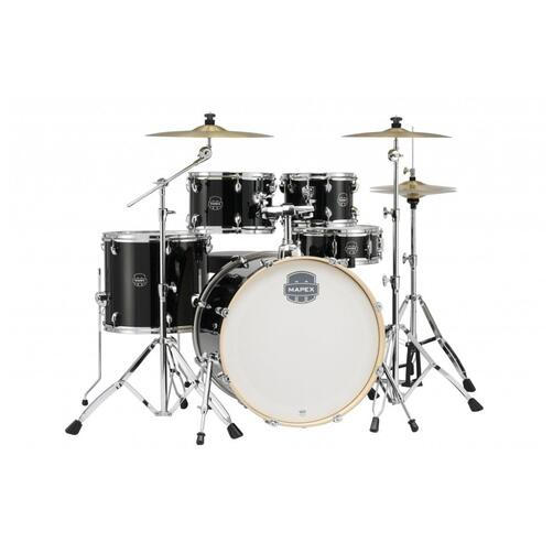 Mapex ST5045FT-DK Storm 20 inch Fast Fusion Storm Special Edition Drum Kit in classic black