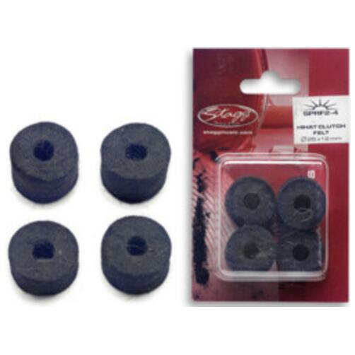 Stagg Hi-Hat Clutch Felts - 4 Pack
