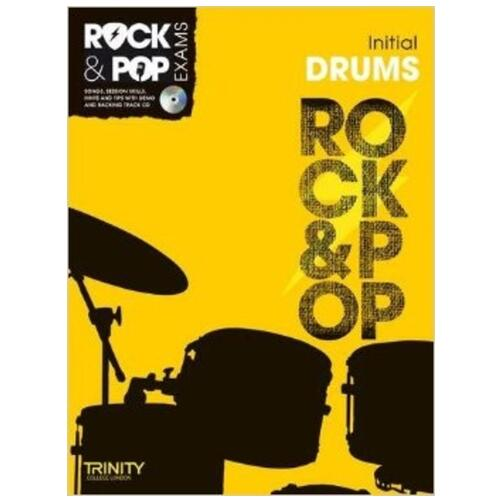 Trinity Guildhall Rock & Pop Initial Book For Drums