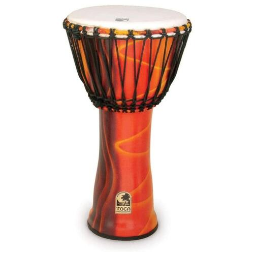 Toca Synergy Freestyle Djembe in Fiesta Finish