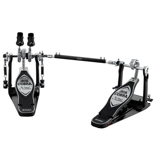 Iron Cobra Twin Bass Drum - Pedal W/Case - Left Footed